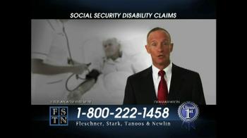 Fleschner, Stark, Tanoos & Newlin TV Spot, 'Disability Claims'