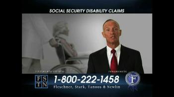 Fleschner, Stark, Tanoos & Newlin TV Spot, 'Disability Claims' - Thumbnail 2