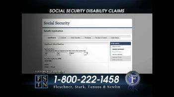 Fleschner, Stark, Tanoos & Newlin TV Spot, 'Disability Claims' - Thumbnail 3