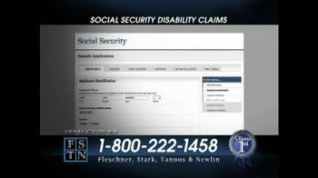 Fleschner, Stark, Tanoos & Newlin TV Spot, 'Disability Claims' - Thumbnail 4