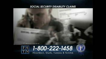 Fleschner, Stark, Tanoos & Newlin TV Spot, 'Disability Claims' - Thumbnail 6