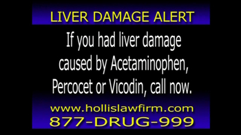 The Hollis Law Firm TV Spot, 'Liver Damage Alert'