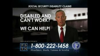 Fleschner, Stark, Tanoos & Newlin TV Spot 'Disabled'