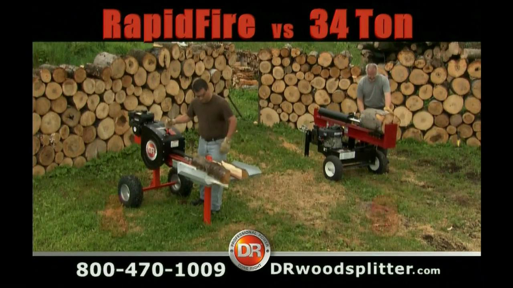 Dr power equipment rapidfire log splitter tv spot ispot thecheapjerseys Images