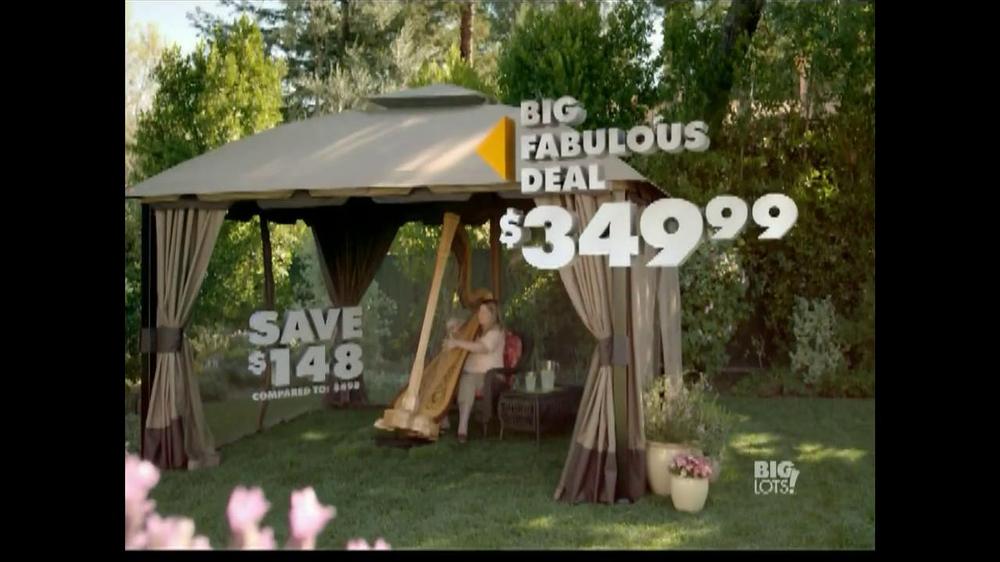 Big Lots TV Commercial Fabulous Deal Gazebo
