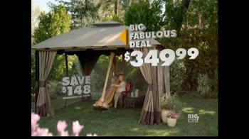 Big Lots TV Spot, 'Big Fabulous Deal: Gazebo' - 117 commercial airings