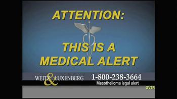 Weitz and Luxenberg TV Spot, 'Medical Alert: Lung Cancer' - Thumbnail 1