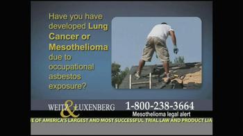 Weitz and Luxenberg TV Spot, 'Medical Alert: Lung Cancer' - Thumbnail 10