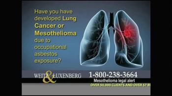 Weitz and Luxenberg TV Spot, 'Medical Alert: Lung Cancer' - Thumbnail 2