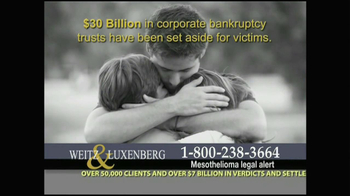 Weitz and Luxenberg TV Spot, 'Medical Alert: Lung Cancer' - Thumbnail 3