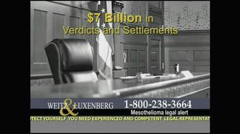 Weitz and Luxenberg TV Spot, 'Medical Alert: Lung Cancer' - Thumbnail 6