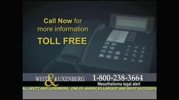 Weitz and Luxenberg TV Spot, 'Medical Alert: Lung Cancer' - Thumbnail 9