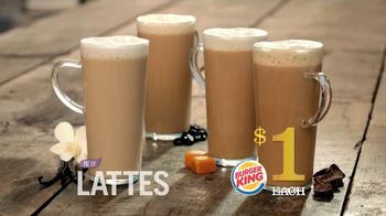 Burger King $1 Lattes TV Spot - Thumbnail 2