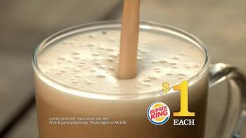 Burger King $1 Lattes TV Spot - Thumbnail 7