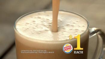Burger King $1 Lattes TV Spot - Thumbnail 8