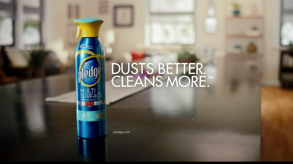 Pledge Multi-Surface TV Commercial, 'Duster'