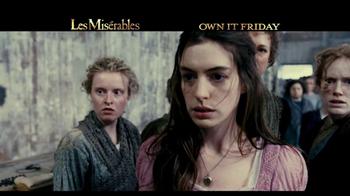 Les Miserables Blu-Ray & DVD TV Spot  - Thumbnail 2