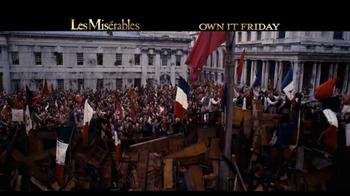 Les Miserables Blu-Ray & DVD TV Spot  - Thumbnail 7