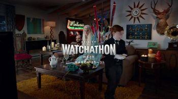 Xfinity On Demand TV Spot, 'Watchathon: Living Room'