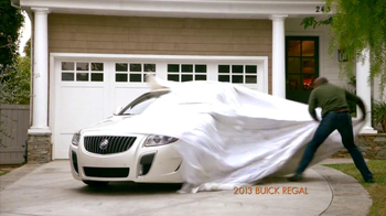 2013 Buick Regal Turbo TV Spot, 'Sewing White Quilt' - Thumbnail 6