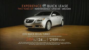 2013 Buick Regal Turbo TV Spot, 'Sewing White Quilt' - Thumbnail 9