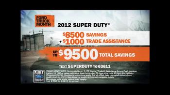 Ford Truck Month TV Spot, 'Heavy Duty Work' - Thumbnail 5