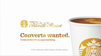 Starbucks Blonde Roast TV Spot, 'Converts' - Thumbnail 9
