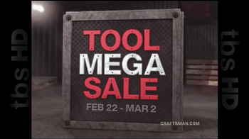 Sears Craftsman Mega Sale TV Spot
