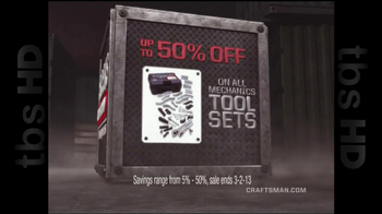 Sears Craftsman Mega Sale TV Spot  - Thumbnail 4