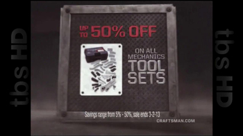 Sears Craftsman Mega Sale TV Spot  - Thumbnail 5