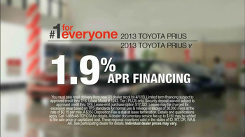 2013 Toyota Prius TV Spot, 'Sewing Room' - Thumbnail 6