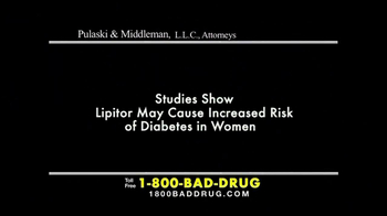 Pulaski & Middleman TV Spot, 'Lipitor' - Thumbnail 1