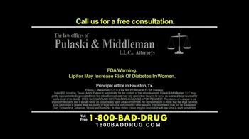 Pulaski & Middleman TV Spot, 'Lipitor' - Thumbnail 9