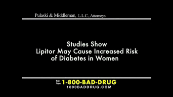 Pulaski & Middleman TV Spot, 'Lipitor' - Thumbnail 2
