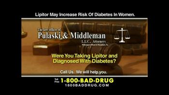 Pulaski & Middleman TV Spot, 'Lipitor' - Thumbnail 5