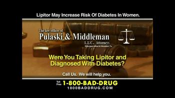 Pulaski & Middleman TV Spot, 'Lipitor' - Thumbnail 6