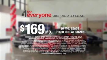 2013 Toyota Corolla TV Spot, 'Psyched Daughter'  - Thumbnail 6