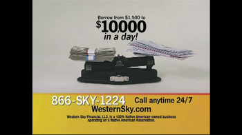 Western Sky Financial TV Spot, 'Bills Outweigh Cash'