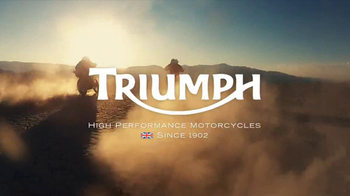 Triumph Motorcycles TV Spot, 'Helicopter' - Thumbnail 9