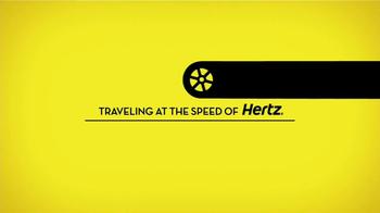 Hertz TV Spot, 'Acceler-Rental' Featuring Owen Wilson - Thumbnail 1
