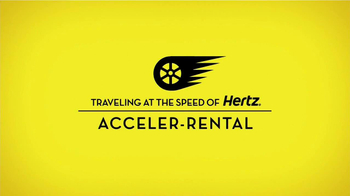 Hertz TV Spot, 'Acceler-Rental' Featuring Owen Wilson