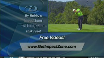 Impact Zone Golf Training System TV Spot, 'Impact' Featuring Bobby Clampett - Thumbnail 7