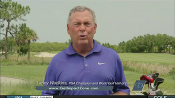 Impact Zone Golf Training System TV Spot, 'Impact' Featuring Bobby Clampett - Thumbnail 4