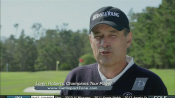 Impact Zone Golf Training System TV Spot, 'Impact' Featuring Bobby Clampett - Thumbnail 5