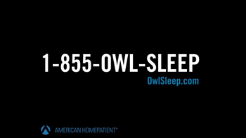 American HomePatient TV Spot, 'Owl Sleep' - Thumbnail 10