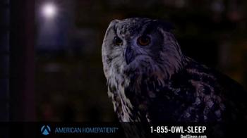 American HomePatient TV Spot, 'Owl Sleep' - Thumbnail 2