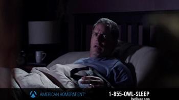 American HomePatient TV Spot, 'Owl Sleep' - Thumbnail 3