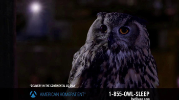American HomePatient TV Spot, 'Owl Sleep'