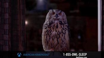 American HomePatient TV Spot, 'Owl Sleep' - Thumbnail 5
