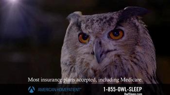 American HomePatient TV Spot, 'Owl Sleep' - Thumbnail 7